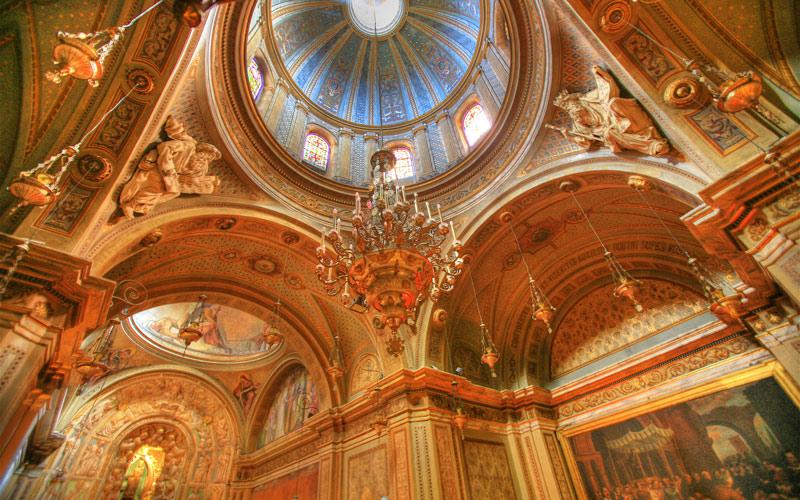 Intérieur de la cathédrale de Solsona
