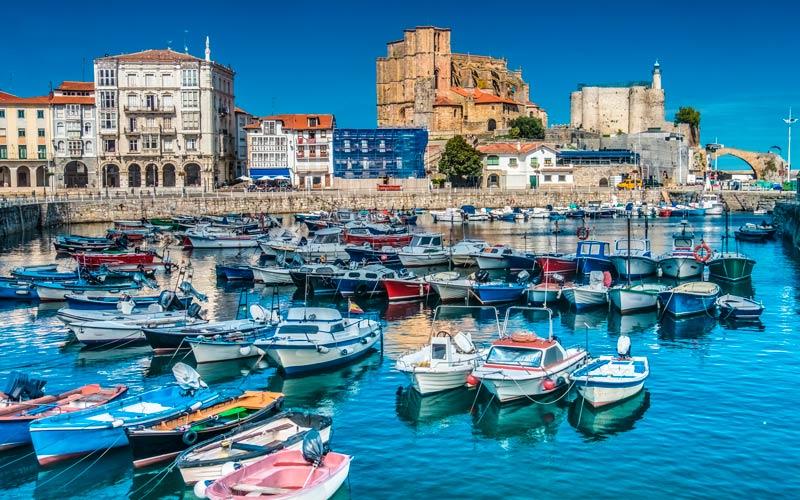 pueblos más bonitos de Cantabria: Castro Urdiales