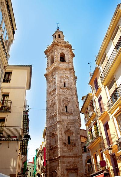 Tour de l'Église Santa Catalina Mártir
