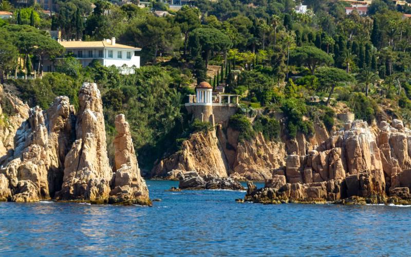 Jardin de Marimurtra face à la Méditerranée