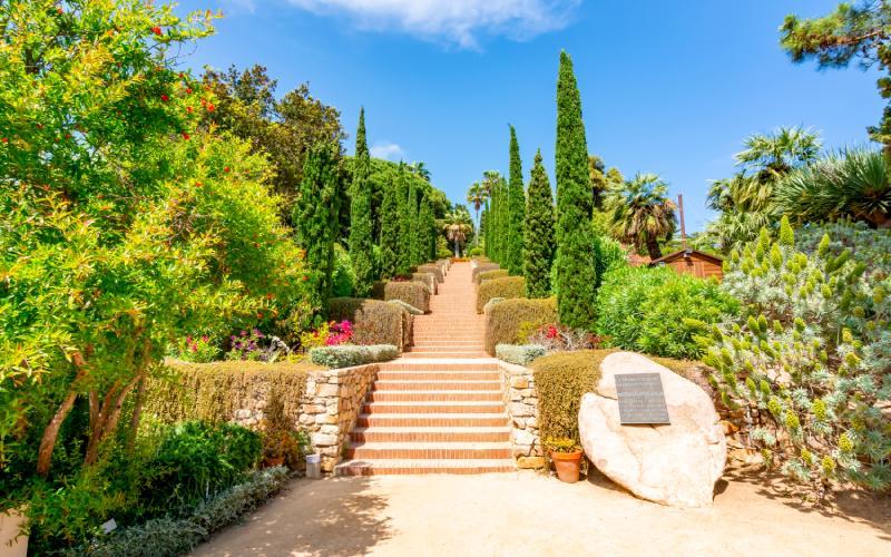 L'escalier d'Epicure à Marimurtra