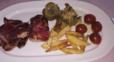 comer carne aracena restaurante jose viecente
