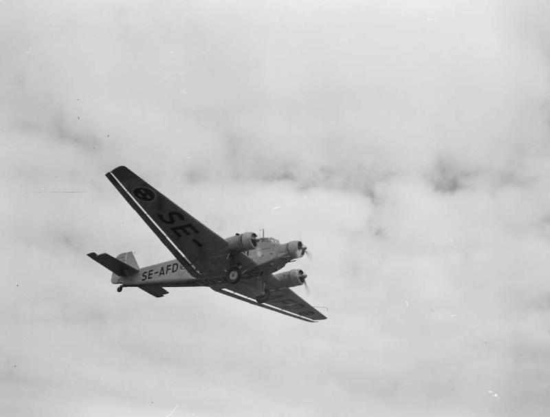 Le Junkers Ju 52 était le modèle utilisé pour bombarder Madrid