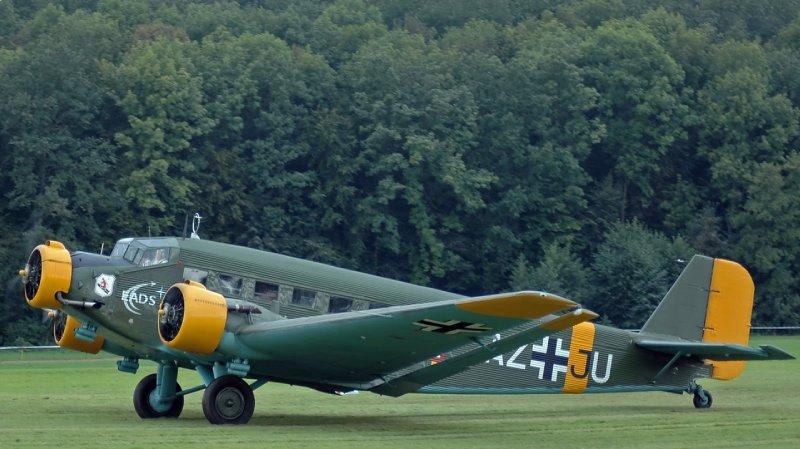 Modèle reconstitué du Junkers JU 52/3m