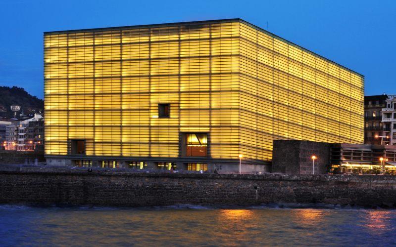 Le bâtiment du Kursaal est l'une des icônes de Saint-Sébastien