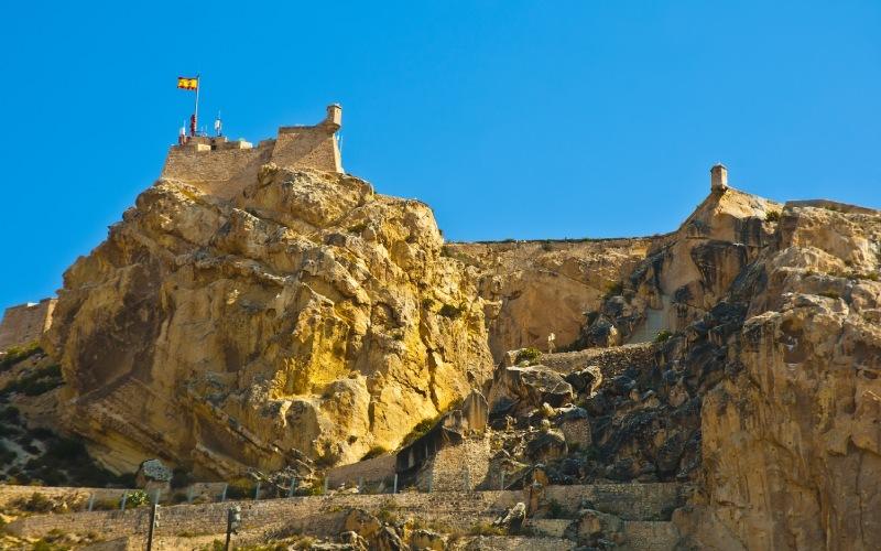 Le visage du Maure sur le Mont Benacantil
