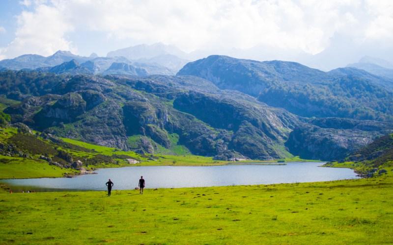 Magnifique paysage du lac Ercina à Covadonga