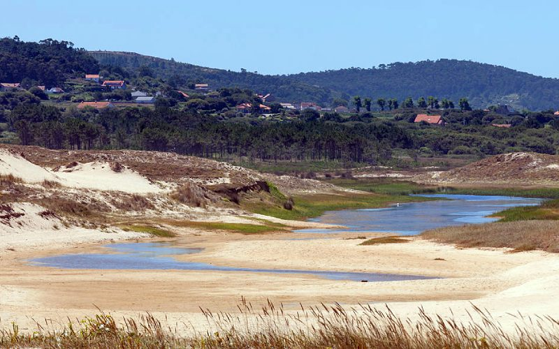La lagune de Muro à Xuño