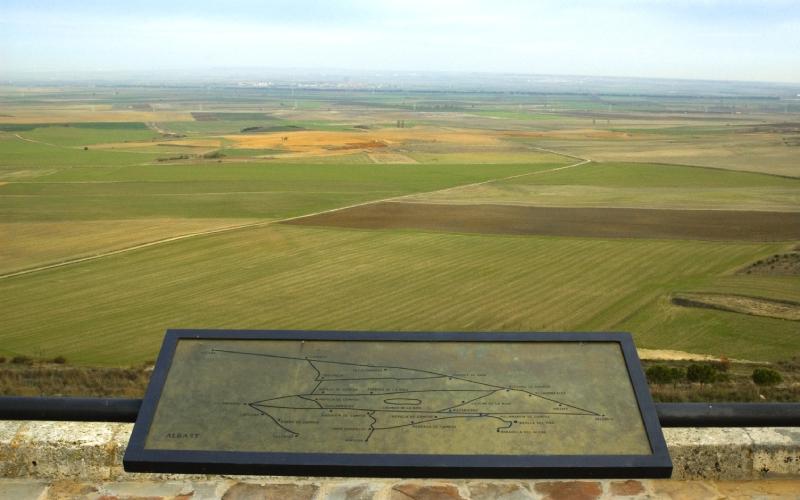 Paysages typiques de Palencia
