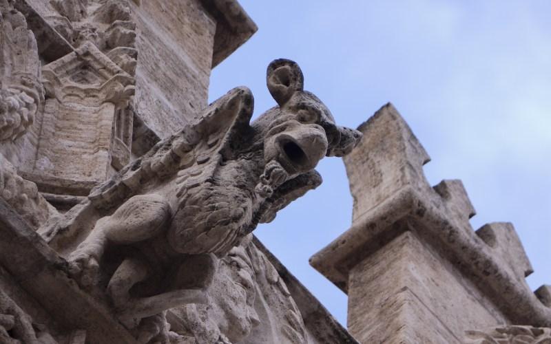 Gargouille de la Bourse de la Soie de Valence