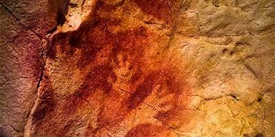 Manos impresas en las Cuevas de Altamira