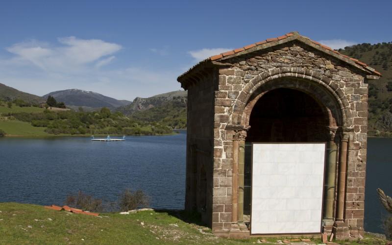 Église Santa Catalina à Mansilla de la Sierra