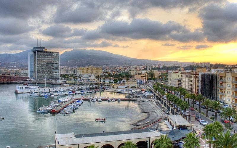 Panoramique du Port de Melilla