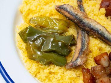 Migas d'Almería aux sardines
