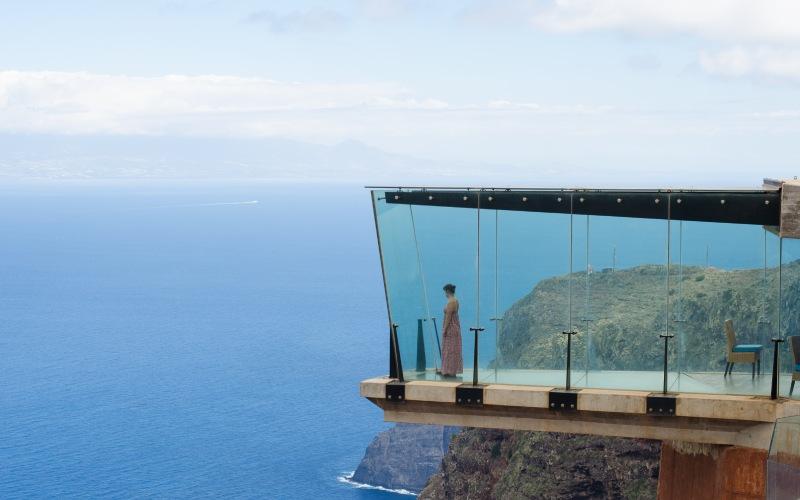 Le Mirador d'Abrante est à plus de 600 mètres au-dessus du niveau de la mer