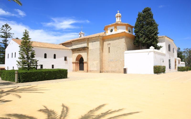 Vue générale du monastère de La Rábida
