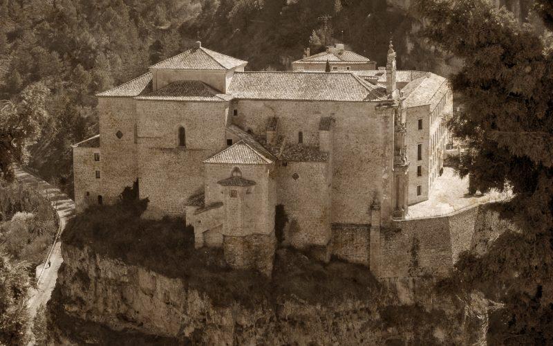 Photo ancienne du monastère de San Pablo