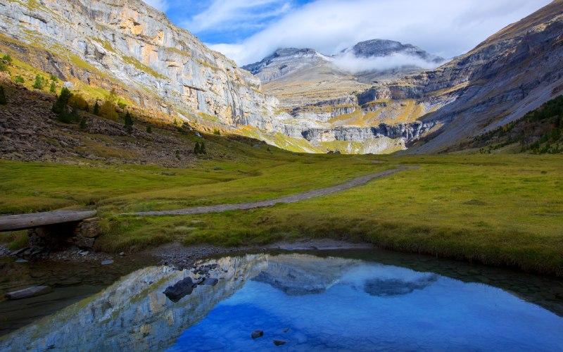 Le Mont Perdu depuis le cirque de Soaso