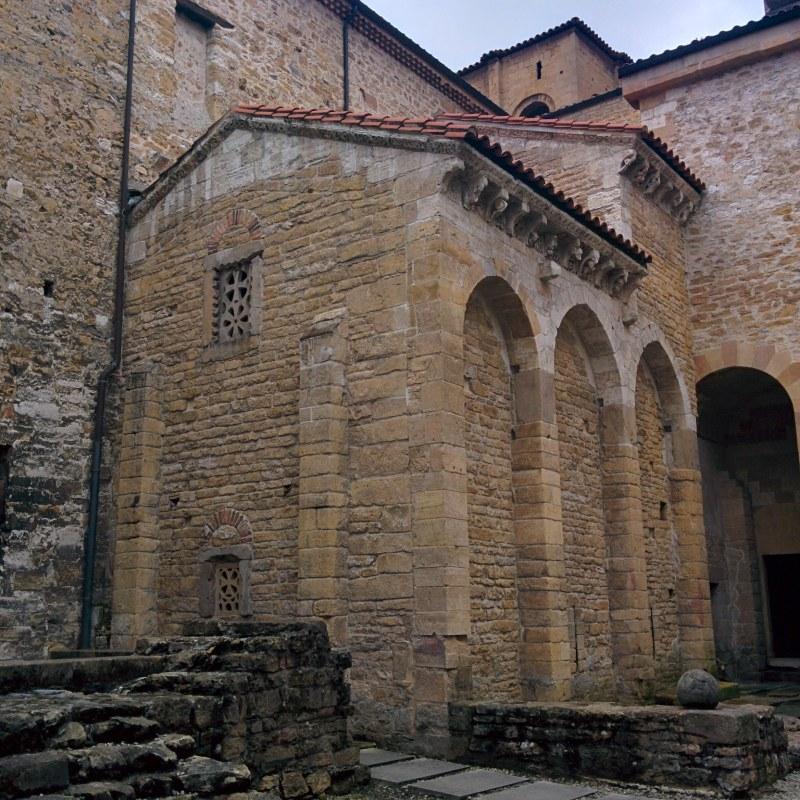 Extérieur de la Chambre Sainte de la Cathédrale d'Oviedo