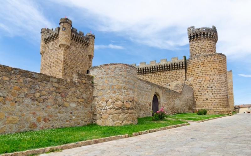 Château médiéval, Oropesa