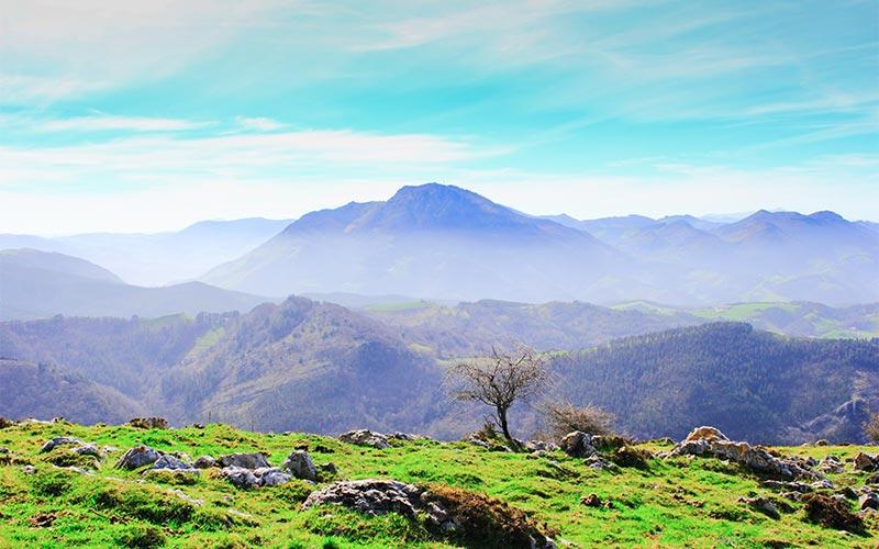 naturaleza de Euskadi