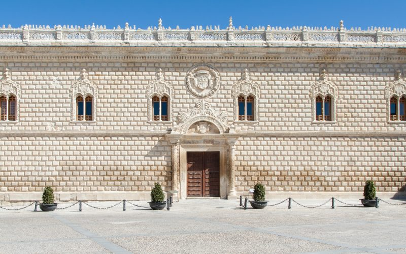 Façade du palais de Cogolludo