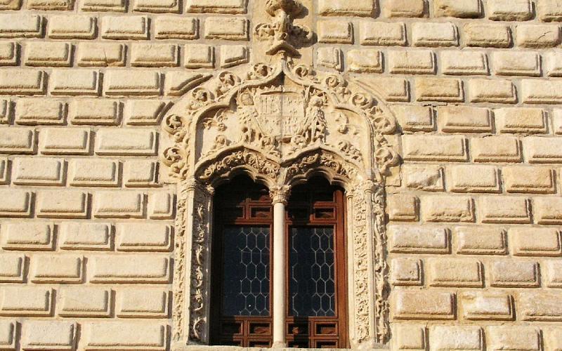 Détail d'une fenêtre du palais