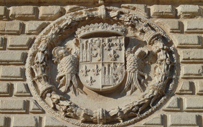 Armoiries sur la façade