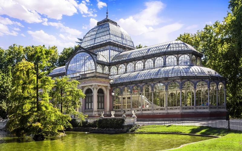 Le Palais de Cristal de Madrid fut inauguré en 1887