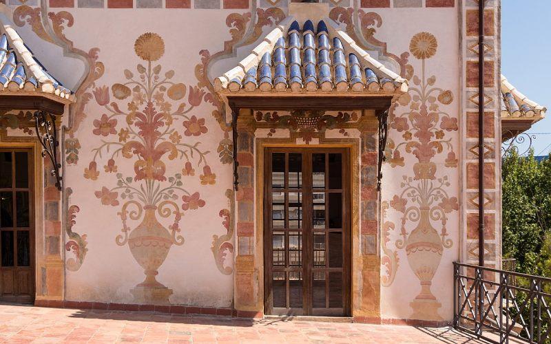 Balcons du palais ducal de Gandía