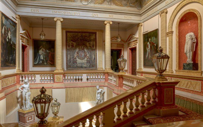 Escalier principal du Palais de Liria