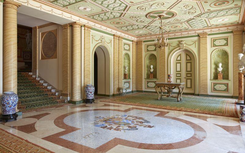 Hall du Palais de Liria