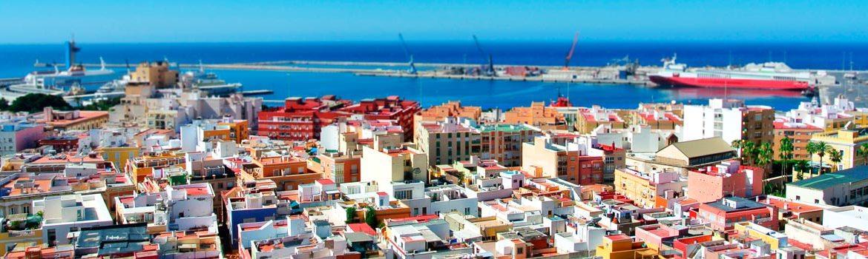 dónde dormir en Almería