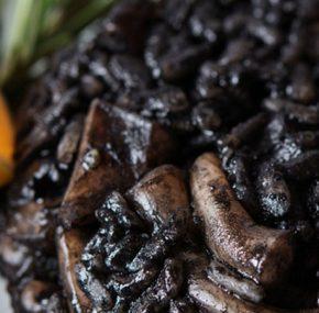 Recette de riz noir à l'aïoli