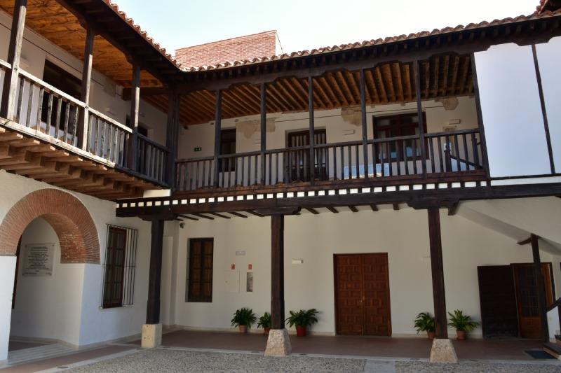 Cour de l'Hôpital d'Antezana à Alcalá de Henares
