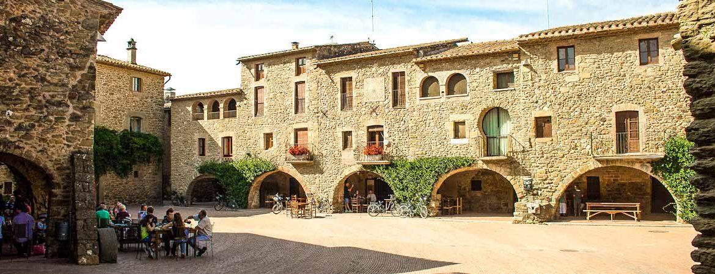 Place Jaume I de Monells