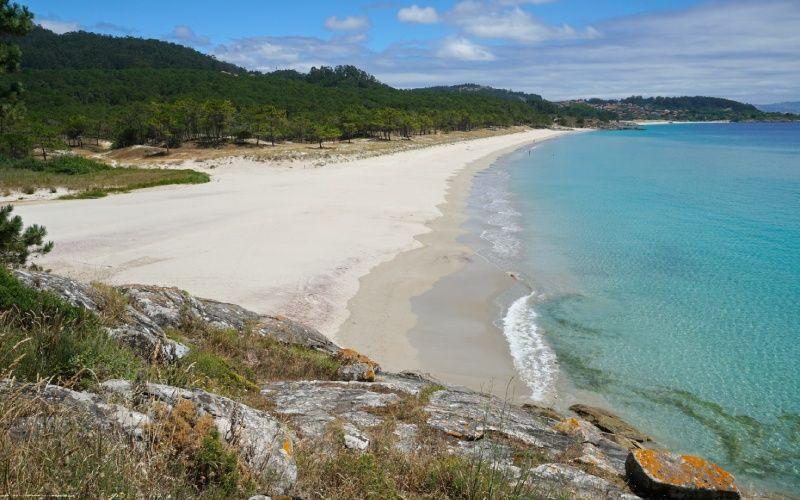 Les plages de la Costa da Vela sont intactes et tranquilles