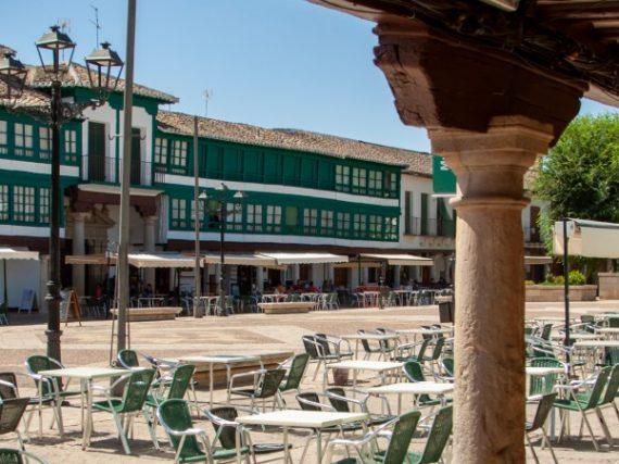 La Grand-Place d'Almagro, un merveilleux complexe du XVIe siècle