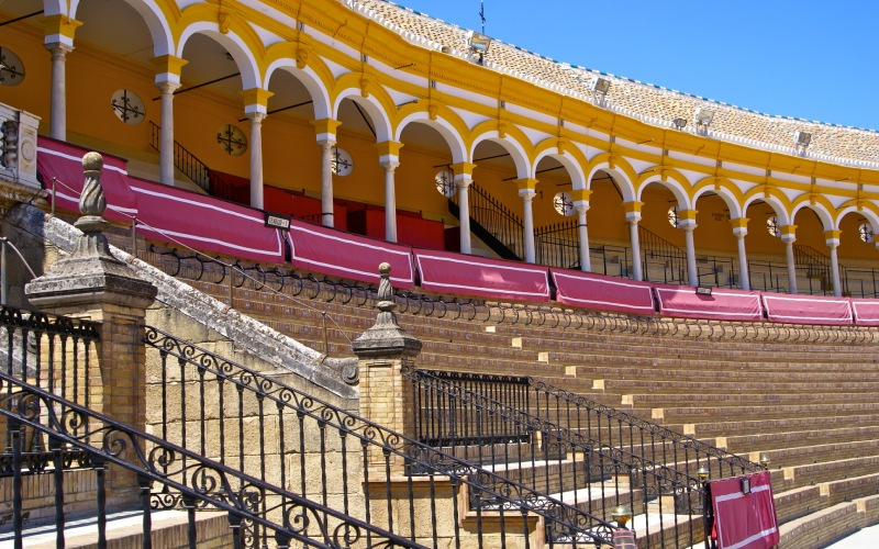 Plaza de la Maestranza, à Séville