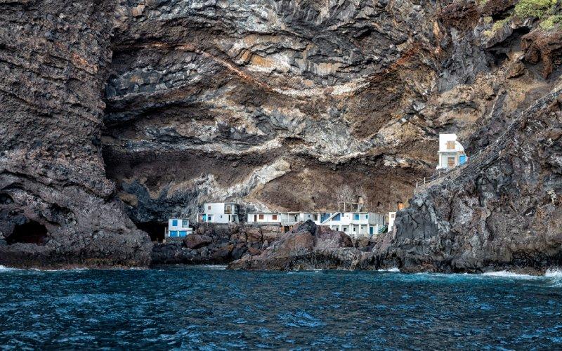 Porís de Candelaria, vu de l'eau