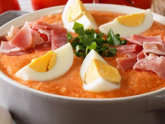 Recette de la porra d'Antequera, la soupe froide de Malaga