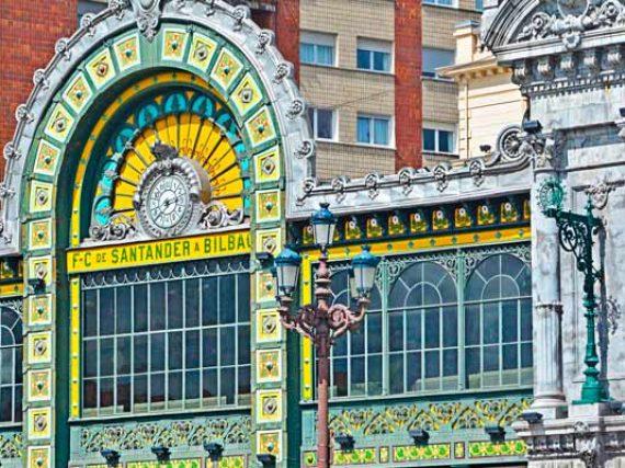 Les gares de Bilbao les plus artistiques