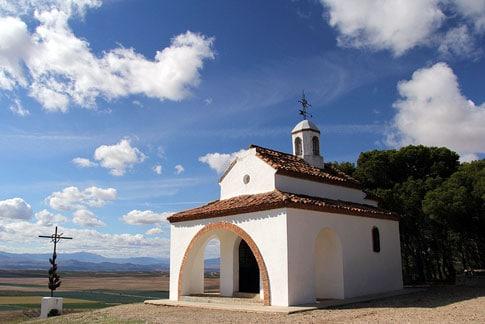 Ermita de Nuestra Señora de Portegado en Funes