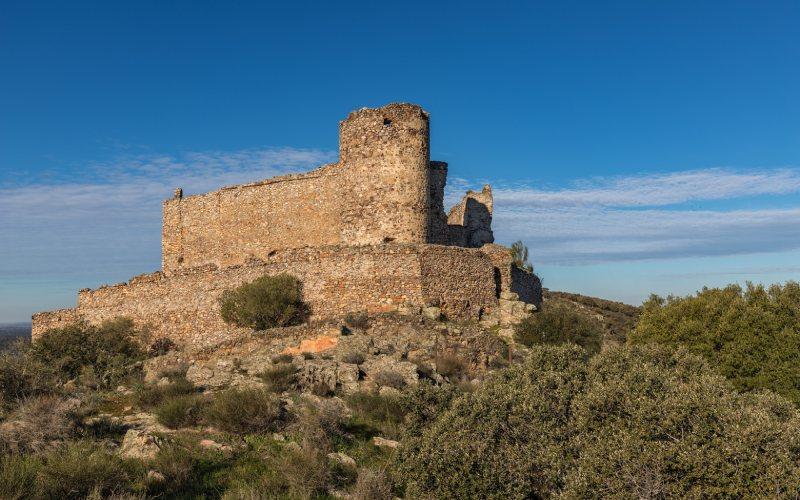 Le château de Portezuelo a subi des réformes indignes d'un BIC