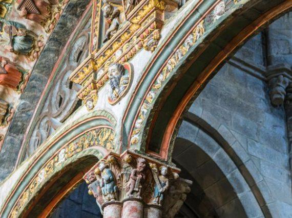 Le Portique du Paradis, l'entrée en couleurs de la cathédrale d'Orense