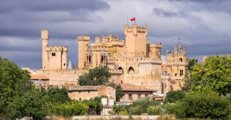 Palais royal des rois de Navarre, une luxueuse fantaisie médiévale à Olite