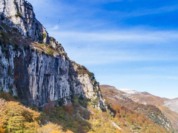 Source de la rivière Asón, la plus haute chute d'eau de Cantabrie