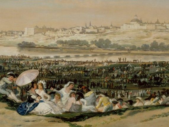 Le regard de Goya sur la prairie de San Isidro   Tableaux qui envoûtent