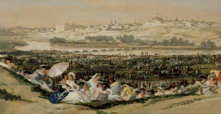 Le regard de Goya sur la prairie de San Isidro | Tableaux qui envoûtent