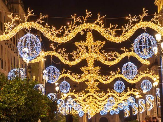 Les plus belles illuminations de Noël en Espagne